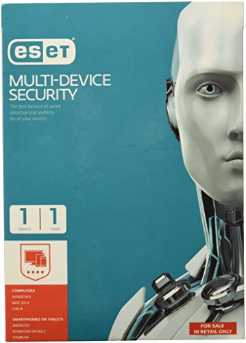 Eset Multi Device Smart Security - 1 Device, 1 Year...