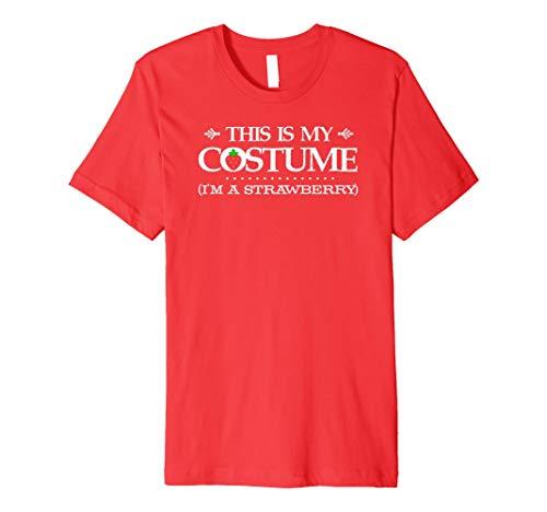Das ist mein Kostüm (Erdbeere) Halloween-Kostüm-T-Shirt