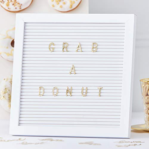 with Gold Letters - Gold Wedding Range by ()