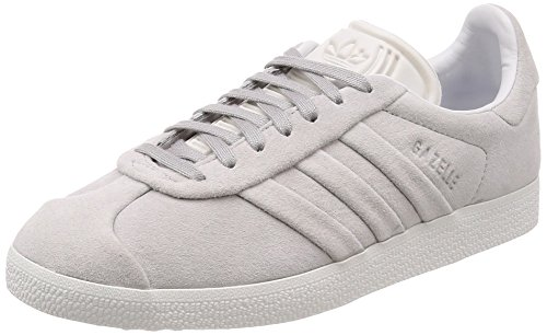 adidas Damen Gazelle Stitch and Turn Skateboardschuhe, Grau (Gretwo/Gretwo/Ftwwht Bb6709), 38 EU
