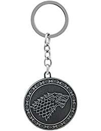 Gratitude Game Of Thrones Winter Is Coming Stark Metallic Keychain / Key Chain / Keyring / Key Ring