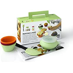 Lékué Muffins & Kids - Kit surtido para magdalenas