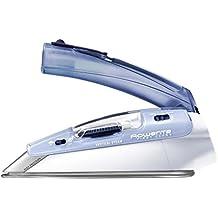 Rowenta Travel DA1510F2 Plancha de viaje (1000 w, golpe de vapor 45g/min, doble voltaje 120/240 V)