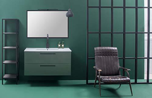 Dafnedesign.com - mobile da bagno effetto legno (cm. l106 x p51 x h57)
