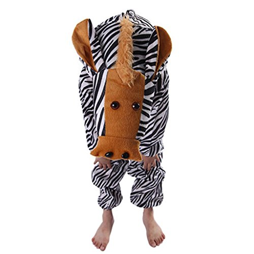 Kostüm Zebra Tanz - Wgwioo Kindertier Performance Tanz Kostüme Kindergarten Zebra Kollektion Kinderkostüm Schule Spiel Party Bekleidung Unisex Outfit 2# 130Cm