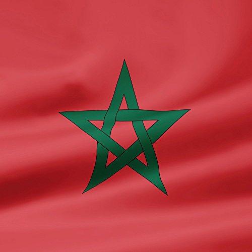 Apple iPhone 5s Housse étui coque protection Maroc Drapeau Drapeau Étui en cuir gris