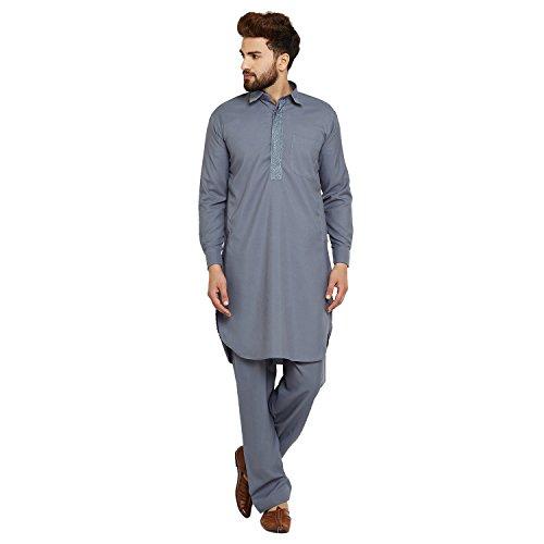 8412422d1e8 Royal Since 1958 Men's Cotton Blend Pathani Kurta Salwar