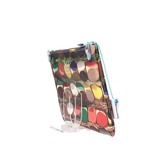 GABS - Beyonce Tg M - Pochette Studio Print, Borsa Donna Multicolore (301 - Dadi)