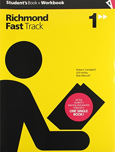 Fast track 1 : workbook por Robert Wyndham Campbell, Gillian Mary Holley, Robert Stephen Metcalf