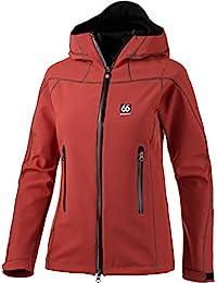 66° North Mujer Chaqueta, color rojo tostado, tamaño S