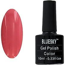 Bluesky UV LED Gel auflösbarer Nagellack 10ml Rose bud, 1er Pack (1 x 10 ml)