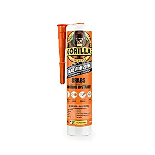 Gorilla Glue Gorilla Grab Adhesive 290ml, White