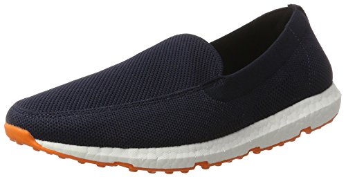 Swims - Breeze Leap Knit, Mocassini Uomo Blau (Navy/Orange)