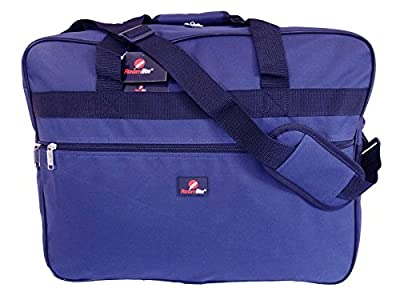 Cabin Hand Baggage Size Holdall Bag - Exact Ryanair and Easyjet Carry On Bags - Hand Luggage 50cm Travel Holdalls in 3 Colours - 50cm x 40cm x 20cm Lightweight 0.6kg - Roamlite RL56M