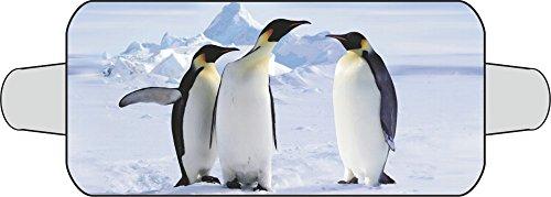 Thermo-Scheibenschutz (für die Frontscheibe) Motiv: Pinguin ~~~~~ schneller Versand innerhalb 24 Stunden ~~~~~
