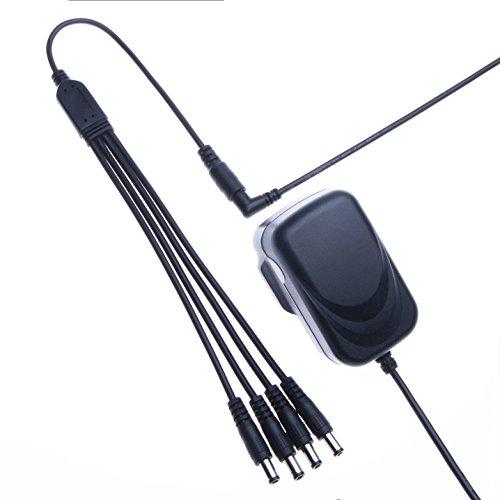 Keple | Netzteil für 9V 1A Boss bcb-30Pedalboard | AC-DC-Adapter Adapter Ladegerät PSU Teil (2m/6.6ft) (Boss Ac-netzteil)