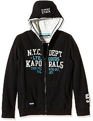Kaporal Capla - Sweat-shirt à capuche - Imprimé - Manches longues - Garçon