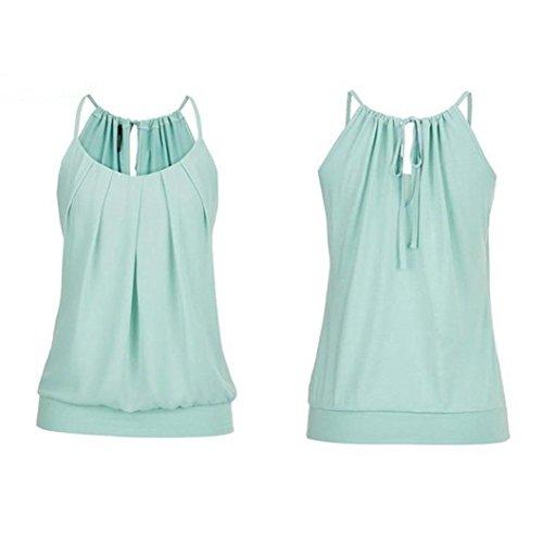 Kimodo T Shirt Bluse Tank Top Damen Camisole Sommer Lose Weste Schwarz Blau Rosa Große Größe Mode 2018 - 2