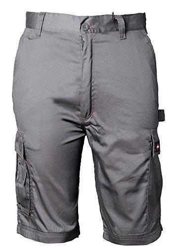 Lee Cooper Classic Cargo Shorts - Kurze Arbeitshose, Größe: 34, Farbe: Grau