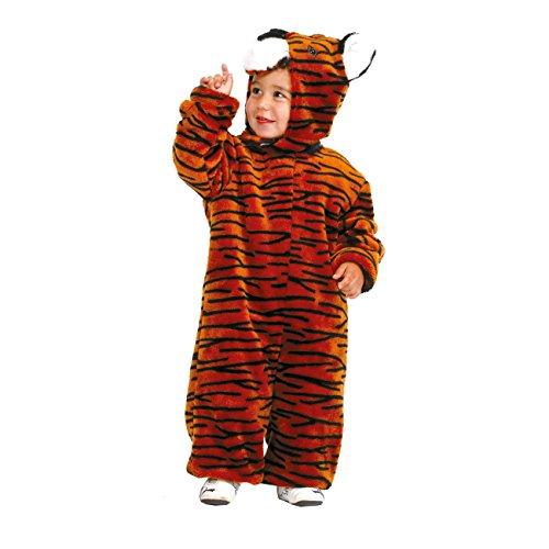 Tiger Kostüme Jungen (Kostümplanet® Tiger Kostüm für Kinder Tigerkostüm Kinderkostüm Größe)