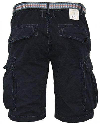 JET LAG Herren Cargo Shorts Vancouver schwarz Schwarz