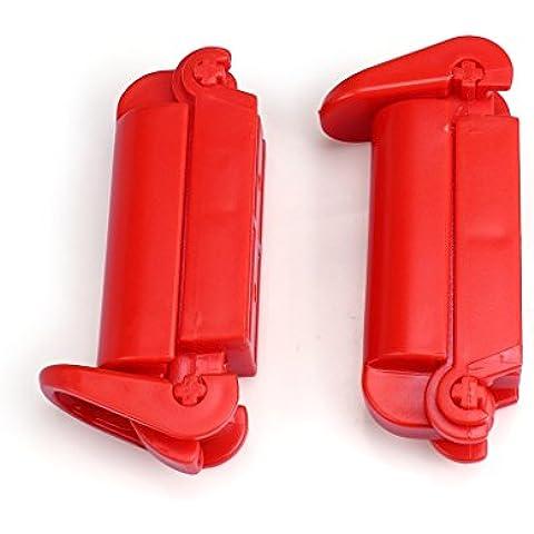 Ewin24 Cinturón de seguridad del bebé del asiento de coche 2PCS Niño pinza equipado equipado pinza clip de correa antideslizante