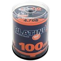 Platinum 4,7 GB DVD-R DVD-Rohlinge (16x Speed) 100er Spindel