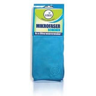 SINEO SPEZIAL-Mikrofasertuch SCHEIBEN, blau