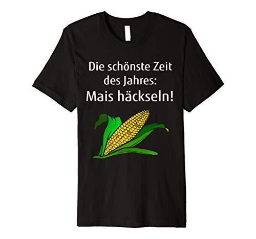 Mais häckseln T-Shirts Landwirt Bauer Lohner Mais-Kolben