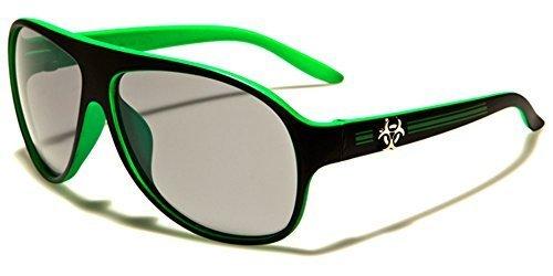 Biohazard Jungen Mädchen Kinder Aviator Sport Sonnenbrillen voll -