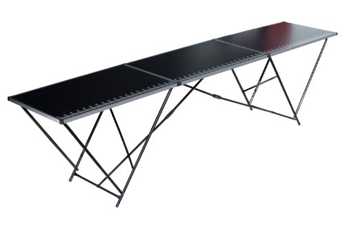 Kühnel 01028 Alu Plus - Mesa de tapicero, color negro