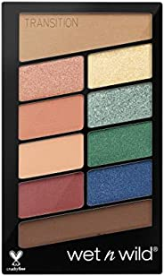 Wet n Wild Color Icon 10 Pan Palette Stop Playing Safe, Multicolor Color, 10 g