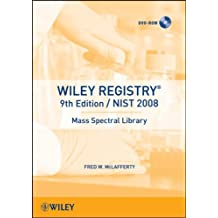 Wiley Registry of Mass Spectral Data, 1 DVD-ROM with NIST 2008