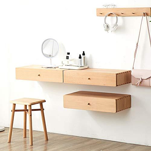 Mobile da comodino mobile tv a parete con cassetto scaffale a parete scaffale da parete prodotto di bellezza armadio da cucina cucina camera da letto mobile supporto tv (colore : beech)