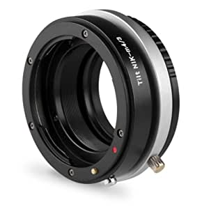 Kipon Tilt Adapter Nikon auf Micro Four Thirds