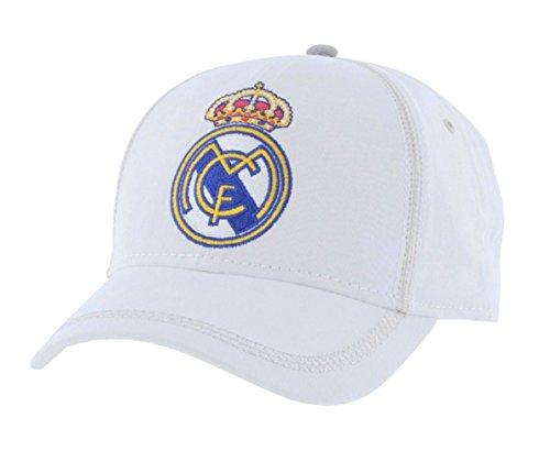 Real Madrid Logo Cap (white)