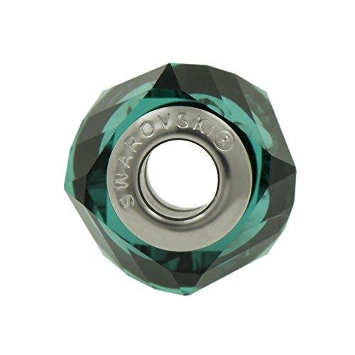 Fascino genuino Perle Swarovski - Emerald Green-Fits Pandora Bracciali - Ideale regalo per le donne e le ragazze - Viene fornito in scatola regalo
