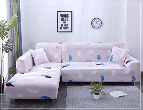 NHFGJ Sofa Abdeckung Elastisch Sofabezug Stretch Rosa 1/2 /3/4 Sitzer Sesselbezug Sesselhusse Sofaüberwurf Multifunktions-All-Inclusive für Vier Jahreszeiten 1 Sitzer: 90-140 cm