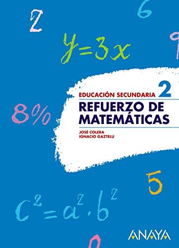 Refuerzo de Matemáticas 2. - 9788466751513