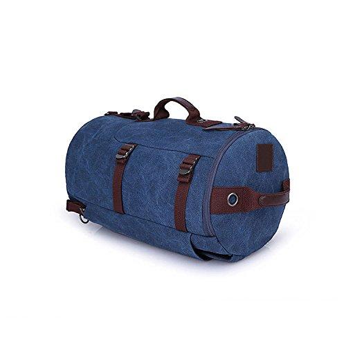 Wandern Rucksäcke, Taschen, Wander-Taschen, Outdoor-Taschen, wasserdicht Doppel Schulter Tasche Tasche Tasche Tasche Tasche Tasche Blue