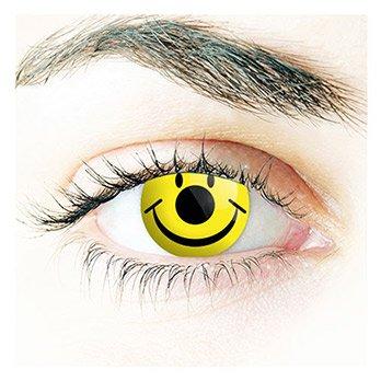 Kostüm Make Up Augen Katze (Farbige Kontaktlinsen, Halloween, Fasching, weich, ohne Stärke als 2er Pack - angenehm zu tragen, perfekt zu Halloween, Karneval, Fasching, Junggesellen abschied, Party)