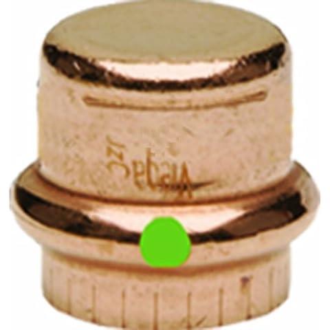 Cap, conexión P, 2en, cobre, 200Psi