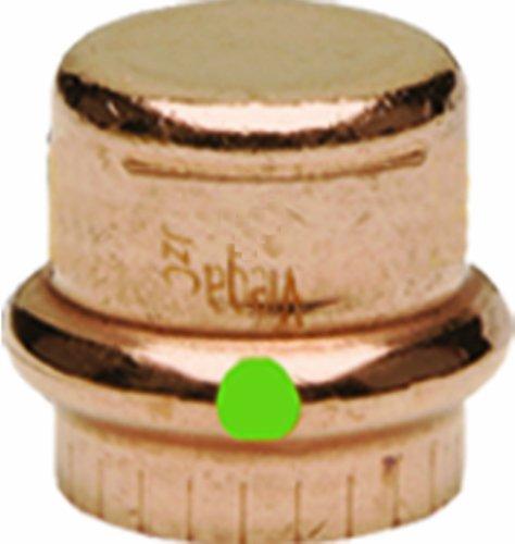 Viega propress Zero führen Kupfer Cap mit 1-1/2Zoll darüber 1 Pack - Pex-cap