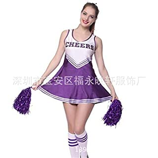 Sense-touch GCH Cheerleading clothing, fun suit, A, XXL