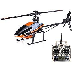 Goolsky WLtoys V950 Helicóptero 2.4G 6CH 3D Sistema 6G motor sin escobillas Flybarless RC RTF