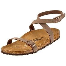 Birkenstock Women's Daloa Ankle Strap Sandals,Brown (Mocca Mocca), 35 EU, 2.5 UK