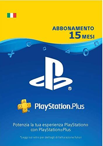 Prime Day Offerta: PlayStation Plus Abbonamento 15 Mesi  | Codice download per PSN - Account italiano