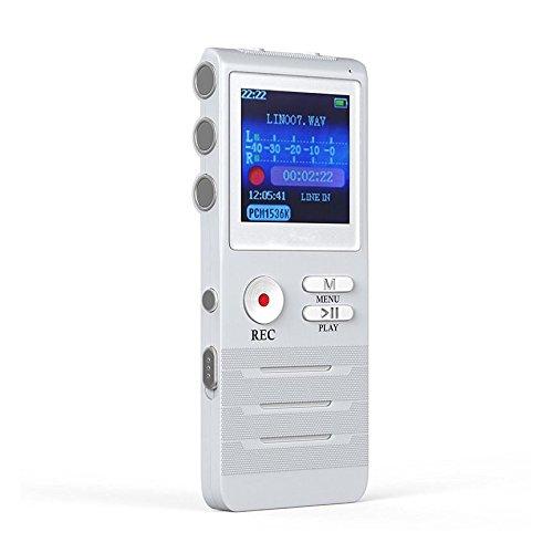 Professionelle Sprachaufzeichnung HD Remote Rauschunterdrückung Micro - Voice Linear APE Lossless MP3 Versteckte Stimme Aufnehmen