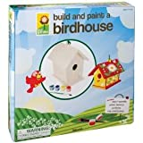 Easy To Build Toysmith Build and Paint a Birdhouse #2957 For Fun with Paint Brush And 6 Paints Jouets, Jeux, Enfant, Peu, Nourrisson