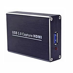 stca HDMI to USB3.0 Full HD 1080P 60FPS Video Capture Card Box for Windows/Linux/Mac Dongle USB UVC and UAC